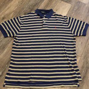 Ralph Lauren Stripe Polo - Size L